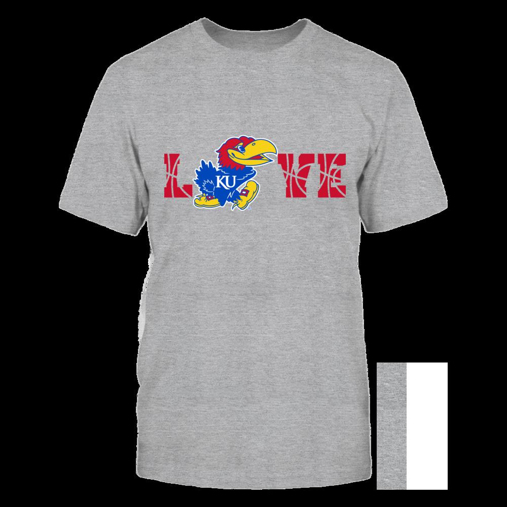 Kansas Jayhawks - Love Basketball Shirt Front picture