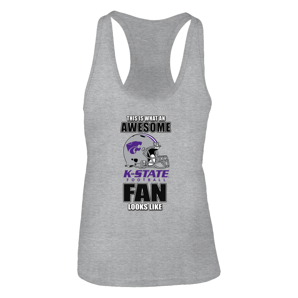 Kansas State Wildcats This is What an Awesome Kansas State Football Fan Looks Like FanPrint