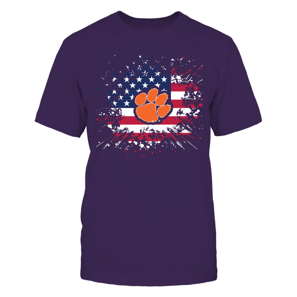 Clemson Tigers - Flag Pride Front picture
