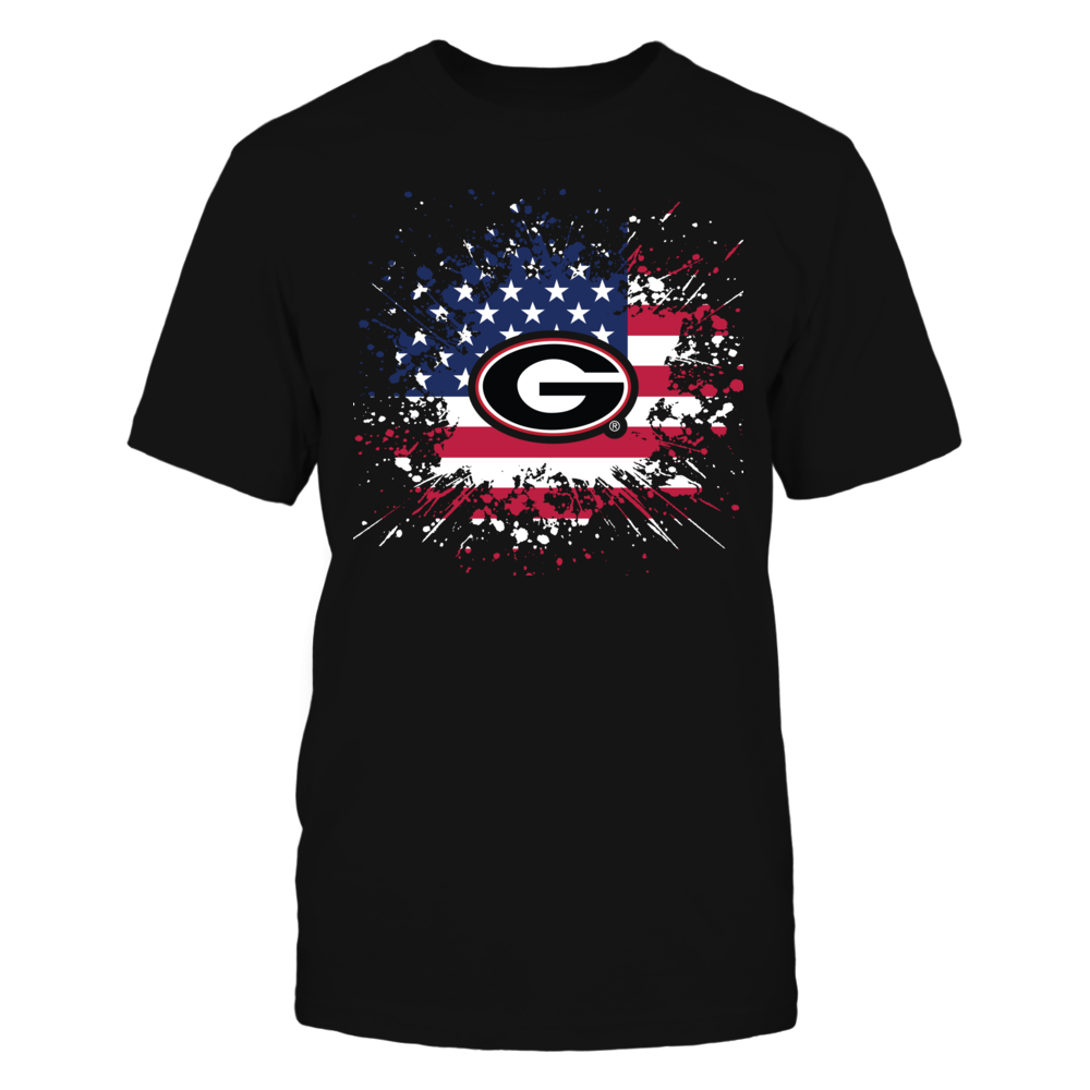 Georgia Bulldogs Georgia Bulldogs - Flag Pride FanPrint