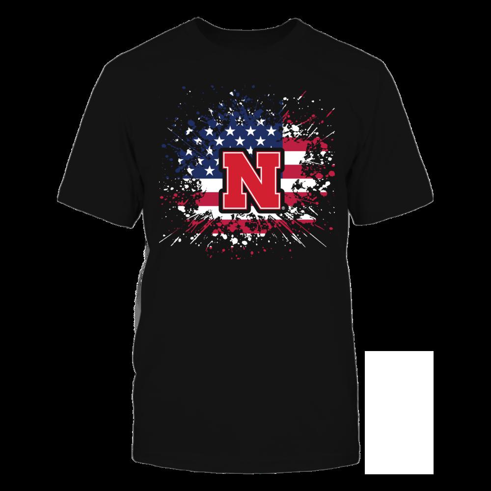 Nebraska Cornhuskers - Flag Pride Front picture