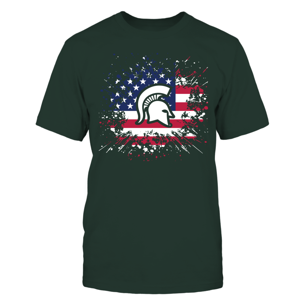 Michigan State Spartans - Flag Pride Front picture