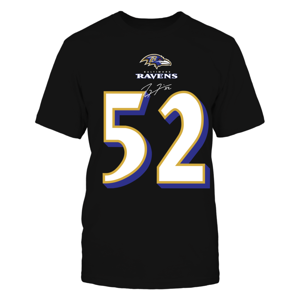 #52 Ray Lewis Front picture