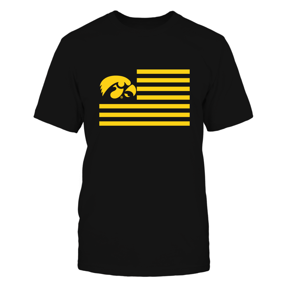 IOWA & STRIPES - IOWA HAWKEYES Front picture