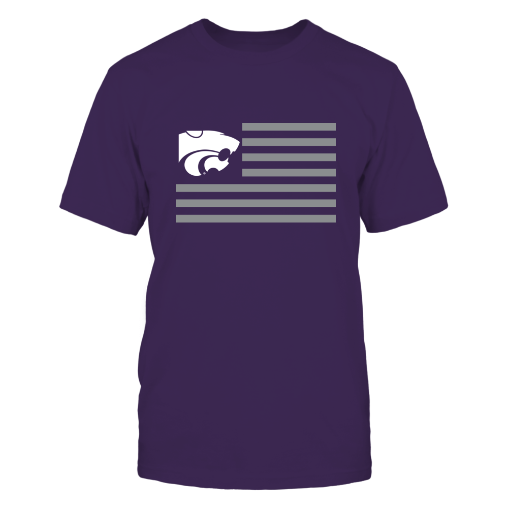 KANSAS STATE & STRIPES - KANSAS STATE WILDCATS Front picture