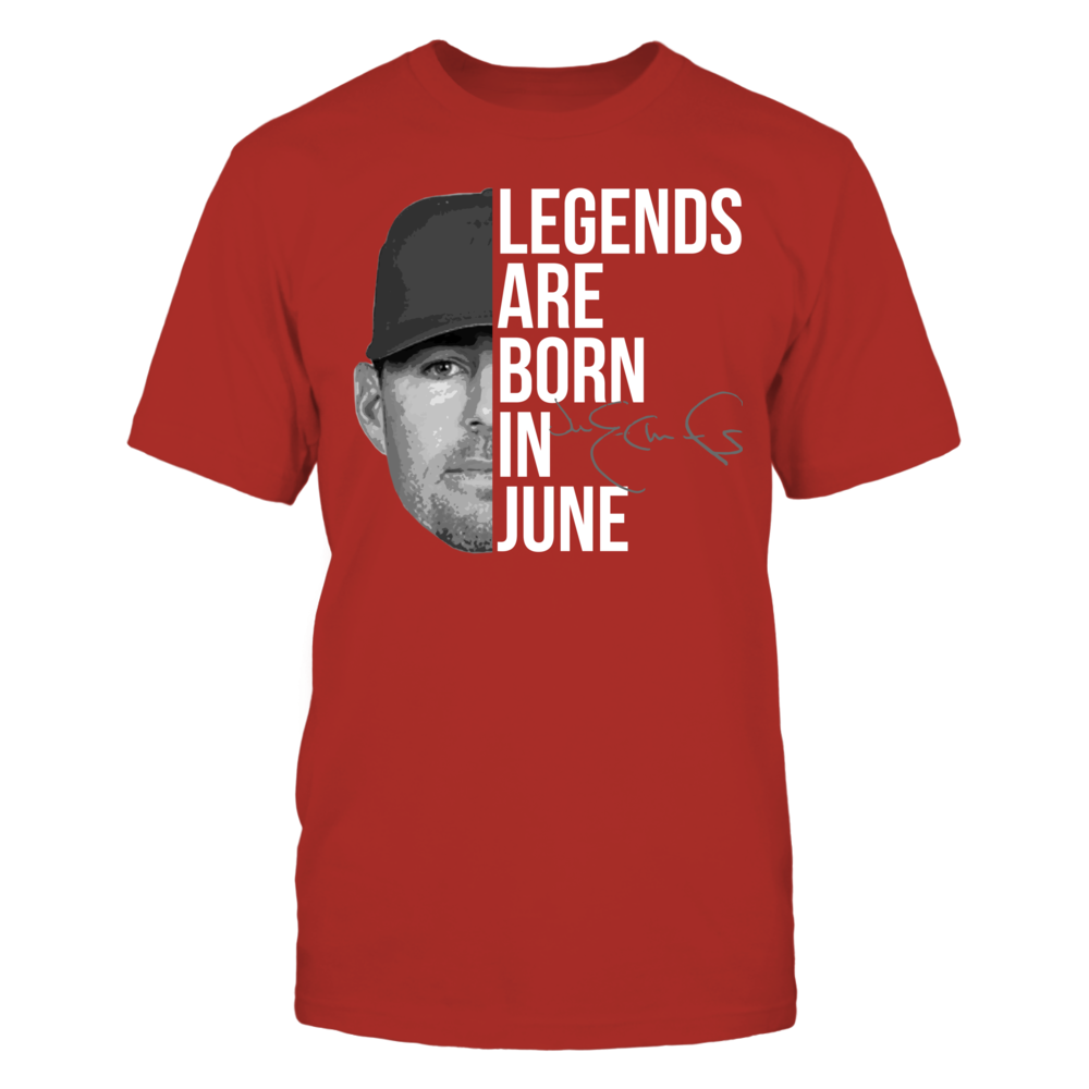 Jim Edmonds - Legends Are Born In June Front picture