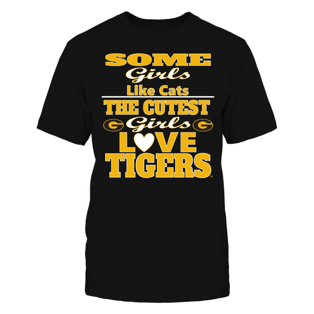 OFFICIAL GRAMBLING STATE UNIVERSITY - BLACK- GIRLS LOVE TIGERS SHIRTS AND MORE Front picture