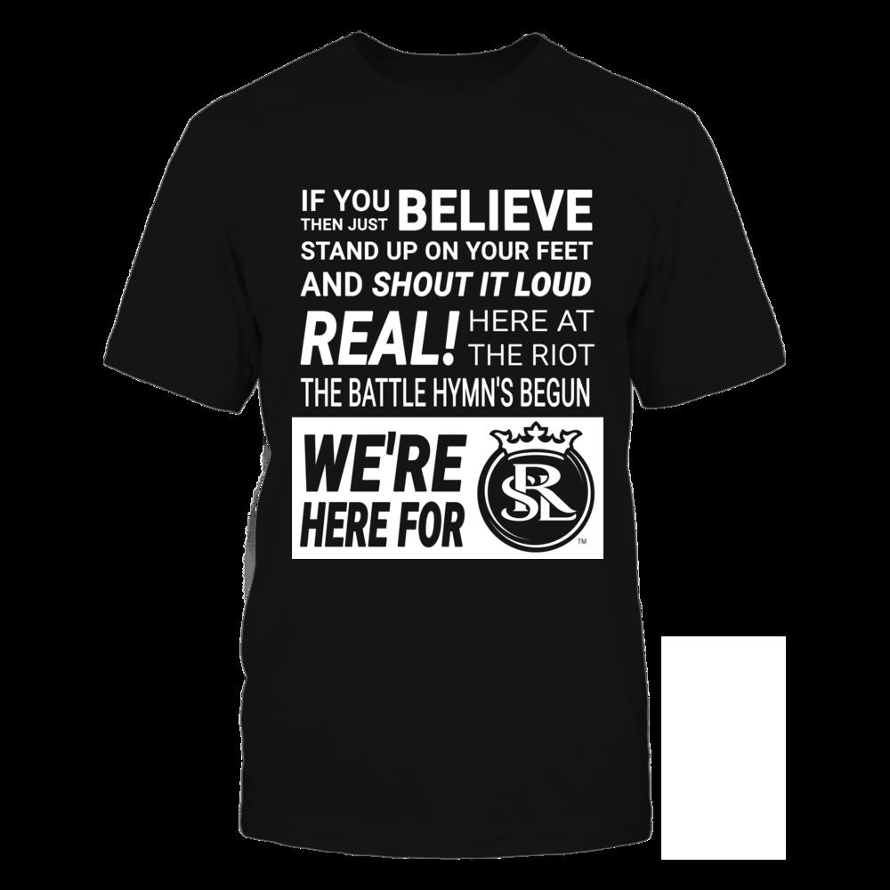 Real Salt Lake Real Salt Lake (RSL) - Battle Hymn FanPrint