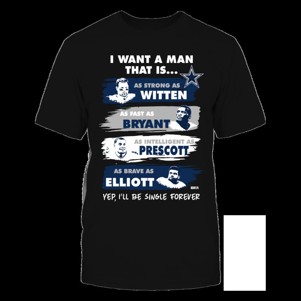 I Want A Man - Witten, Bryant, Prescott, Elliott Front picture
