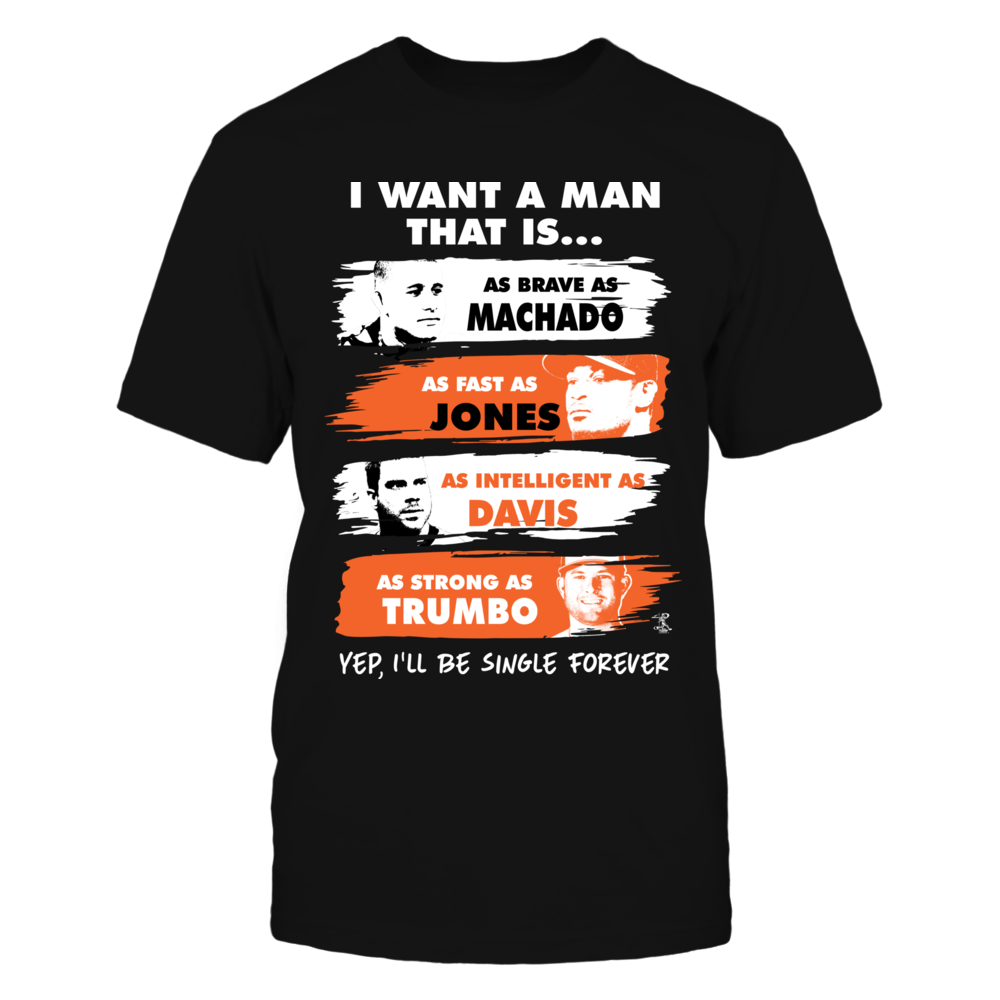 I Want A Man - Machado, Jones, Davis, Trumbo Front picture