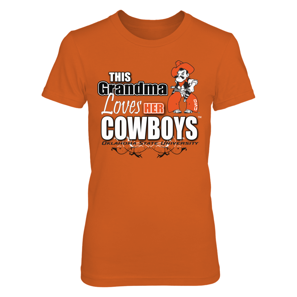 This Grandma Loves her Oklahoma State Cowboys- Officially Licensed Oklahoma State Merchandise Front picture