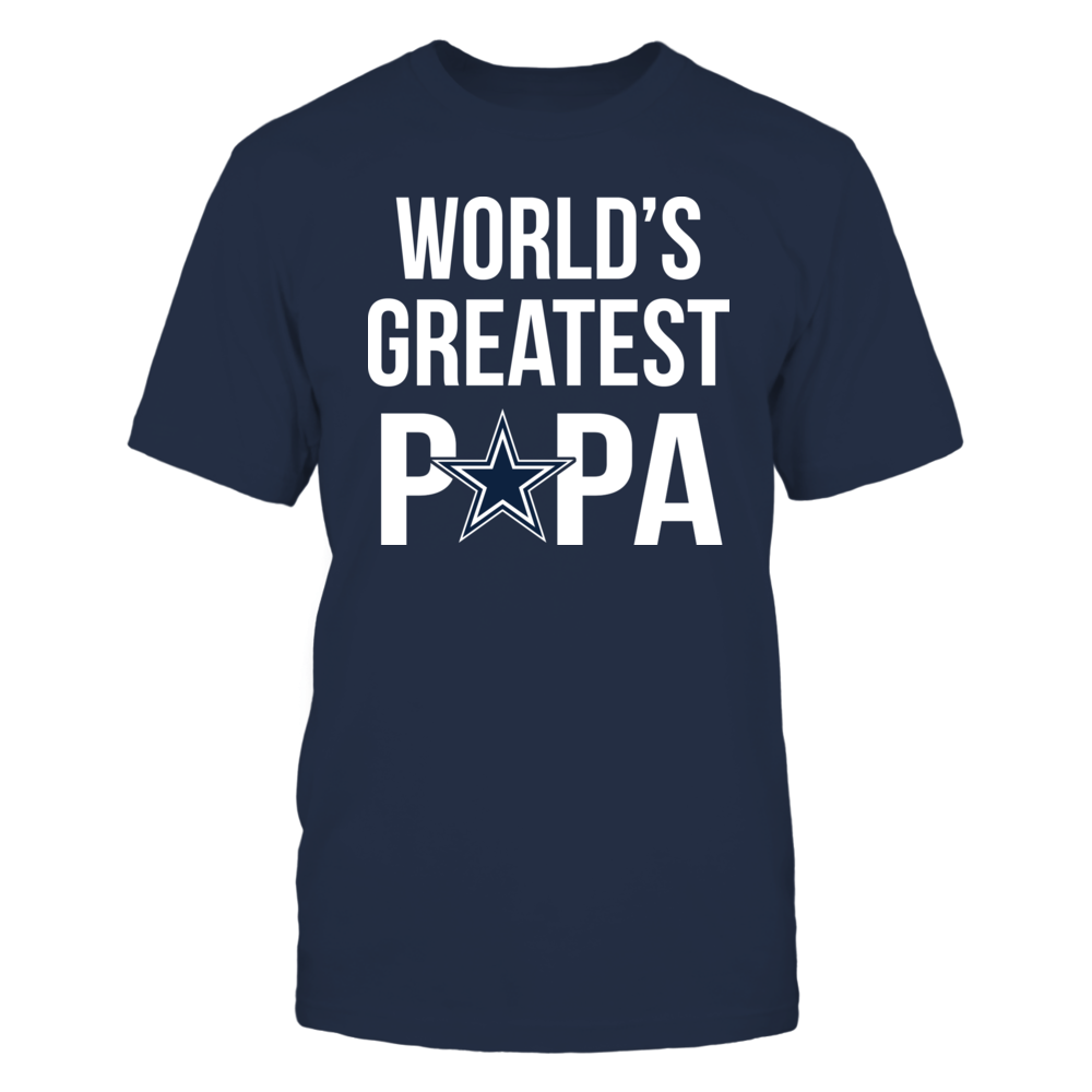 Dallas Cowboys World's Greatest Papa - Ultimate Dallas Cowboys Fan FanPrint