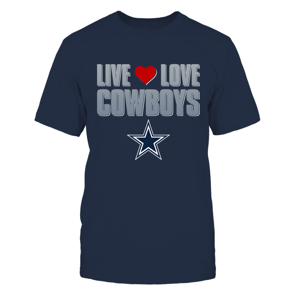 Dallas Cowboys Live Love Cowboys - Dallas Cowboys FanPrint
