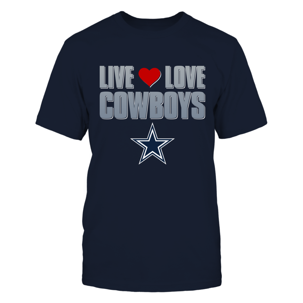Live Love Cowboys - Dallas Cowboys Front picture