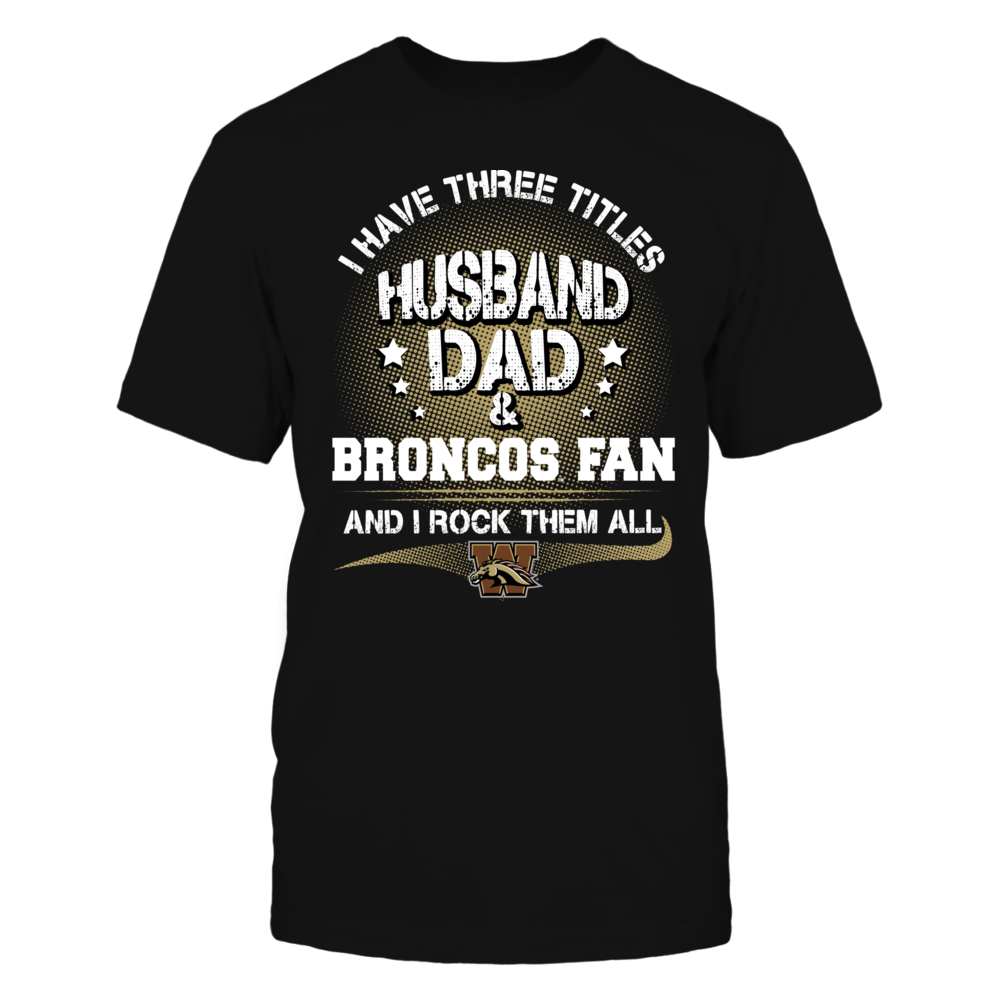 Western Michigan Broncos - Three Titles Front picture