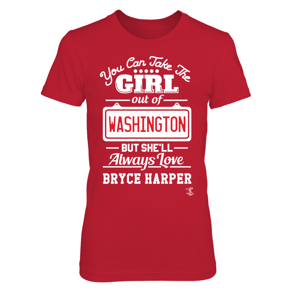 Bryce Harper - Take The Girl Out Of Washington Front picture