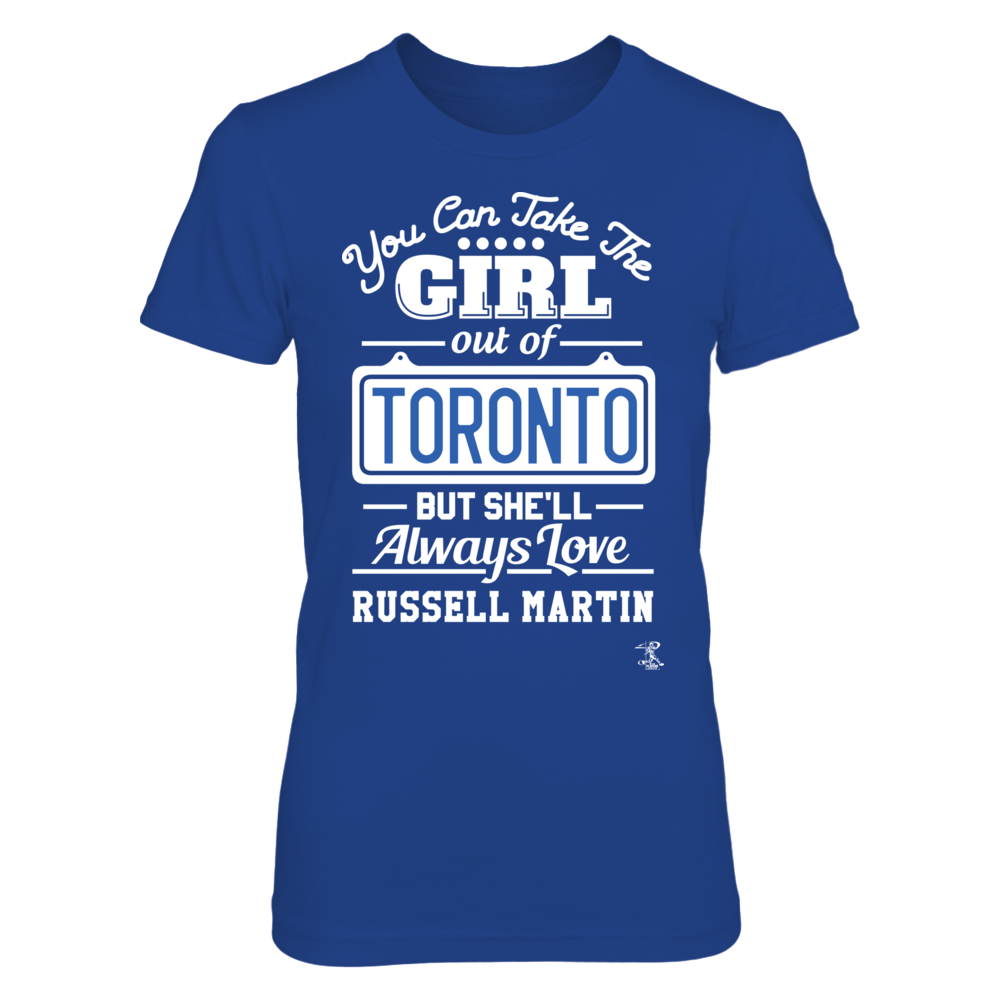 Russell Martin - Take The Girl Out Of Toronto Front picture