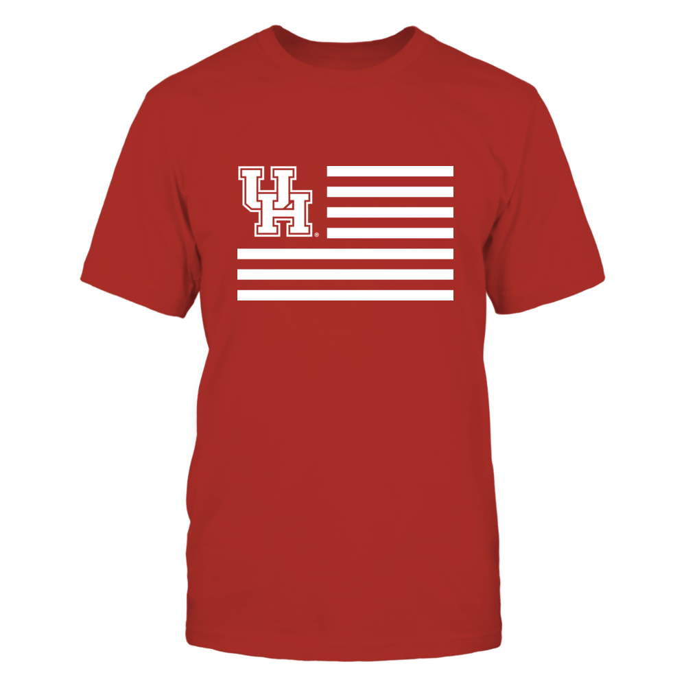 Houston Cougars - Flag Stripes Front picture