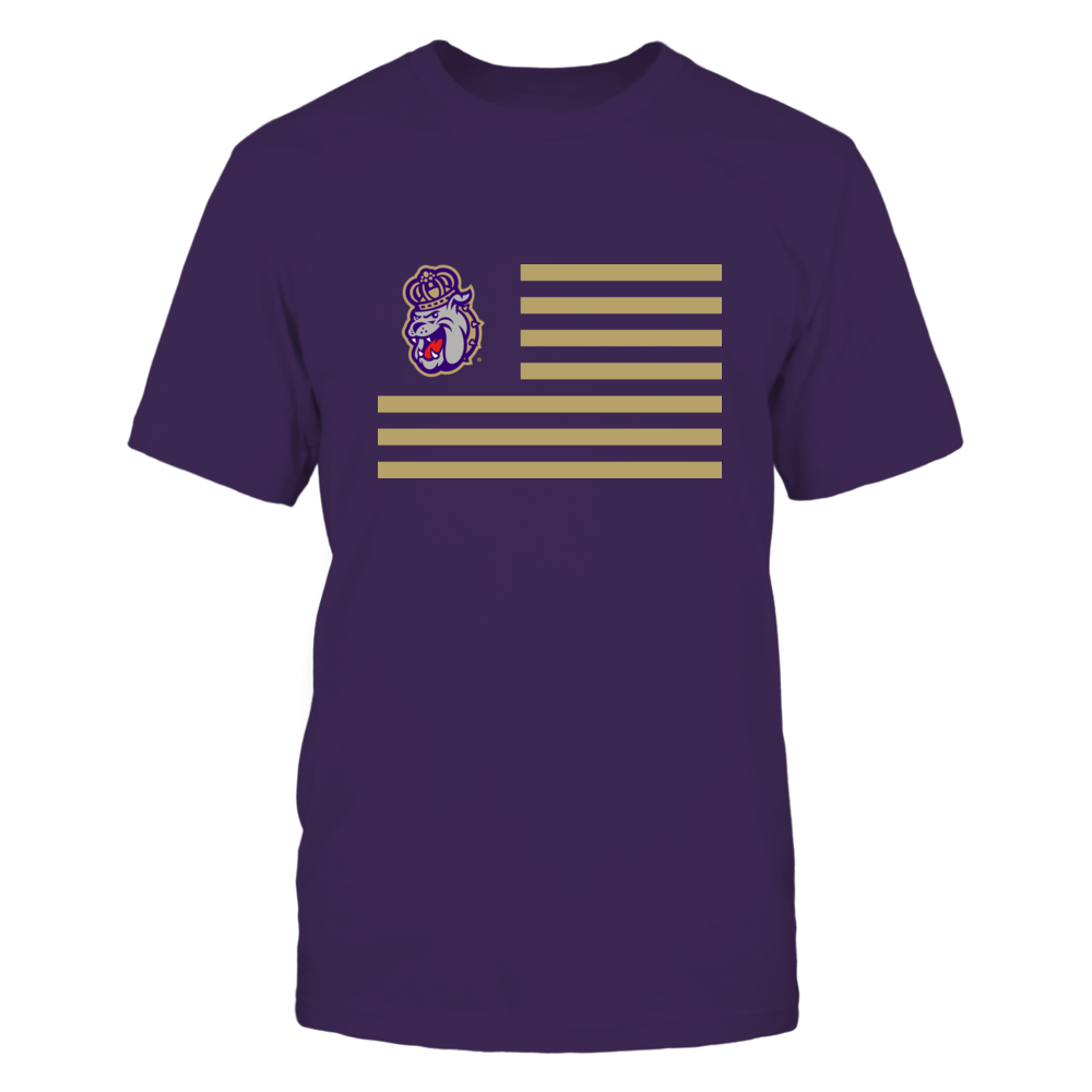 James Madison Dukes - Flag Stripes Front picture