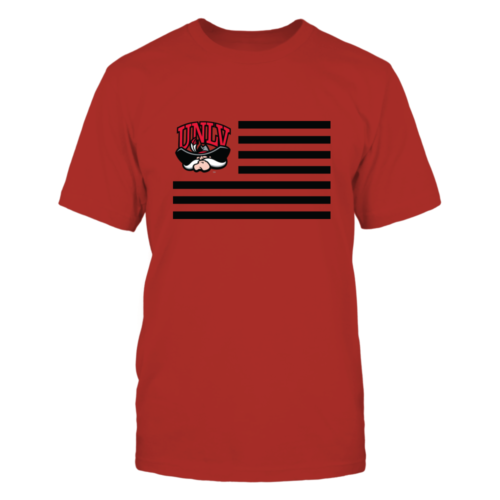 UNLV Rebels UNLV Rebels - Flag Stripes FanPrint