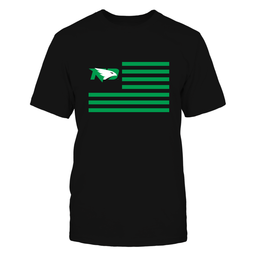 North Dakota Fighting Hawks - Flag Stripes Front picture