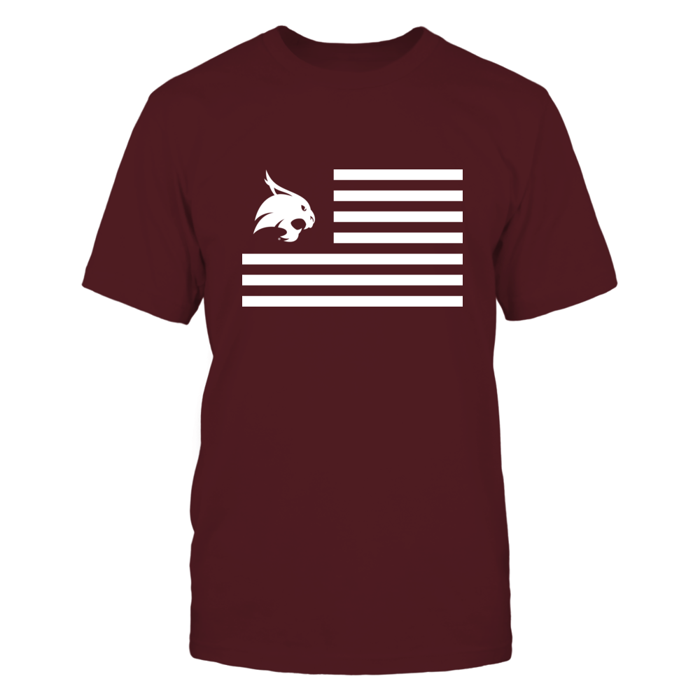 Texas State Bobcats Texas State Bobcats - Flag Stripes FanPrint