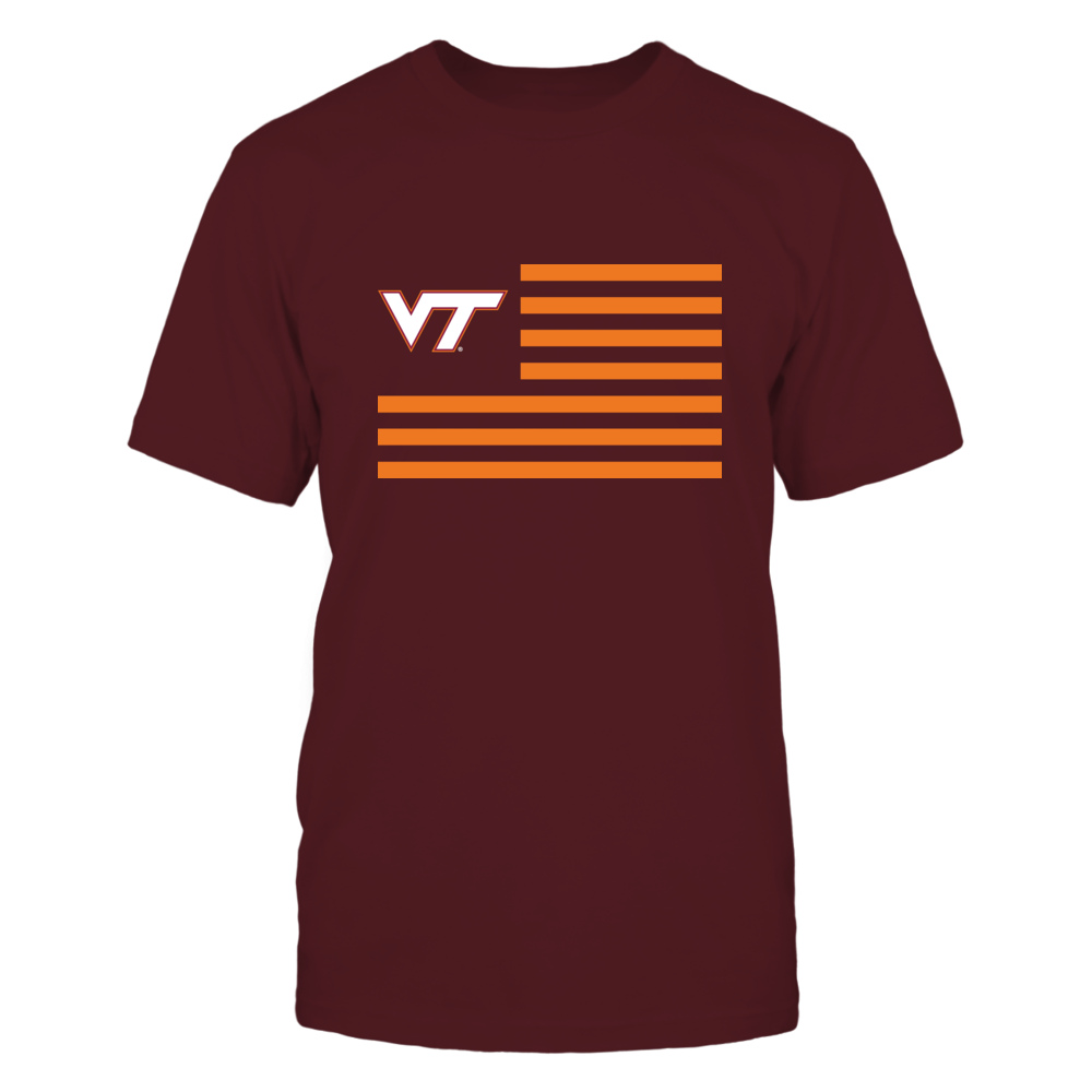 Virginia Tech Hokies - Flag Stripes Front picture