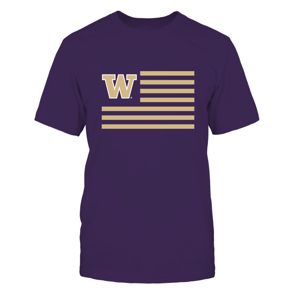 Washington Huskies - Flag Stripes Front picture