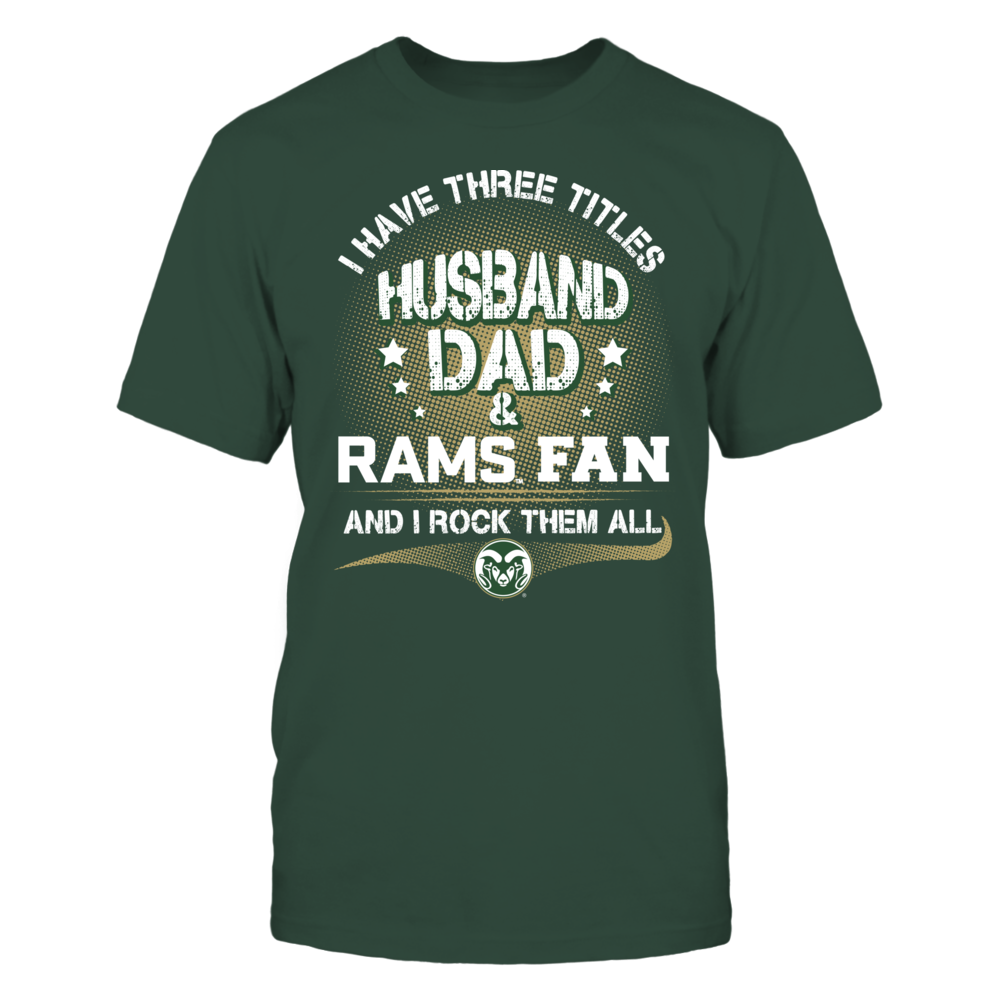 Colorado State Rams - Three Titles Front picture