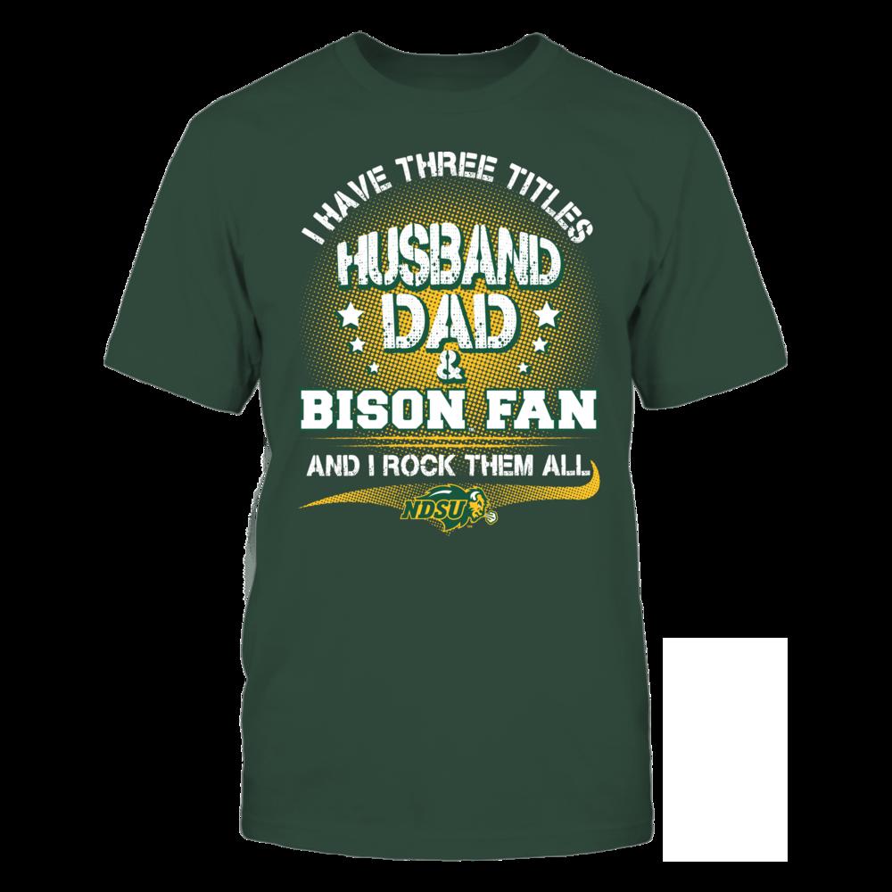 North Dakota State Bison - Three Titles Front picture