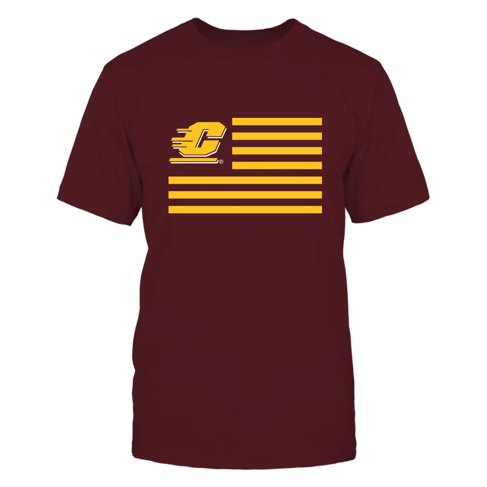 Central Michigan Chippewas - Flag Stripes Front picture