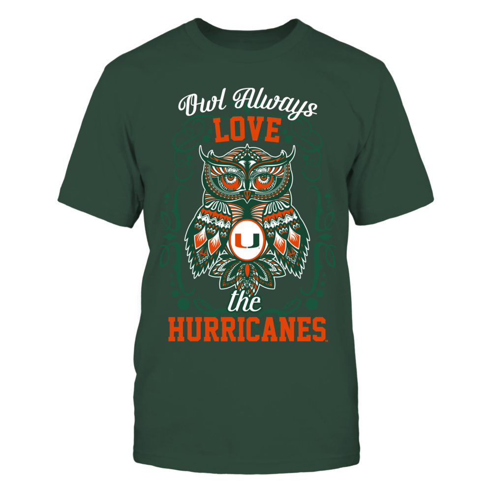 Miami Hurricanes - Owl always  - IF-IC32-DS75 Front picture