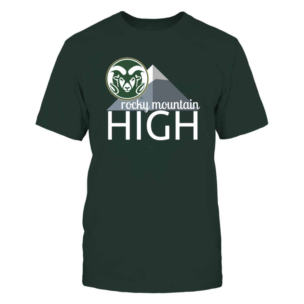 ROCKY MOUNTAIN HIGH - COLORADO STATE RAMS Front picture