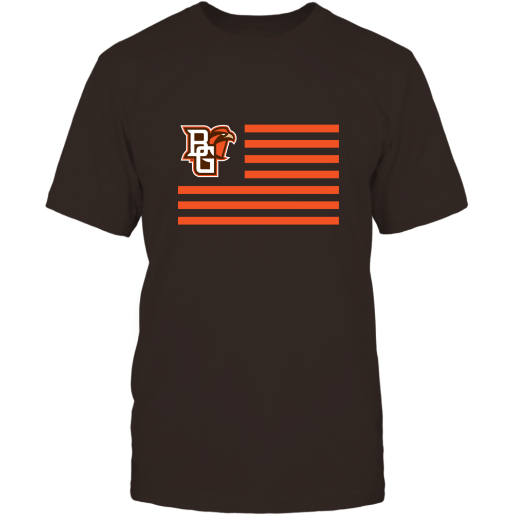 Bowling Green Falcons - Flag Stripes Front picture