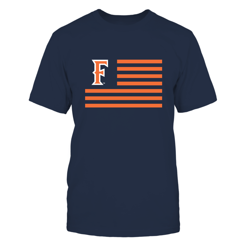 Cal State Fullerton Titans - Flag Stripes Front picture