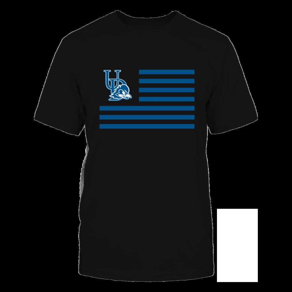 Delaware Blue Hens - Flag Stripes Front picture