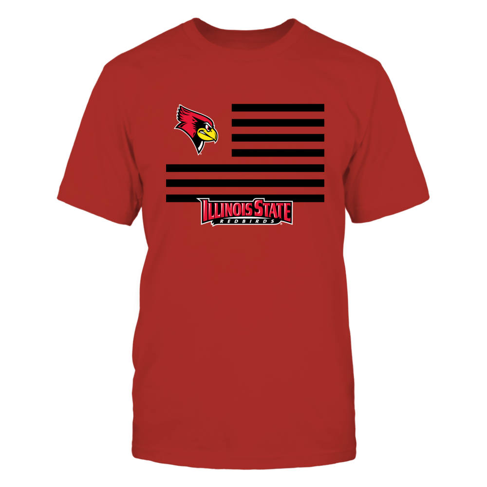Illinois State Redbirds - Flag Stripes Front picture