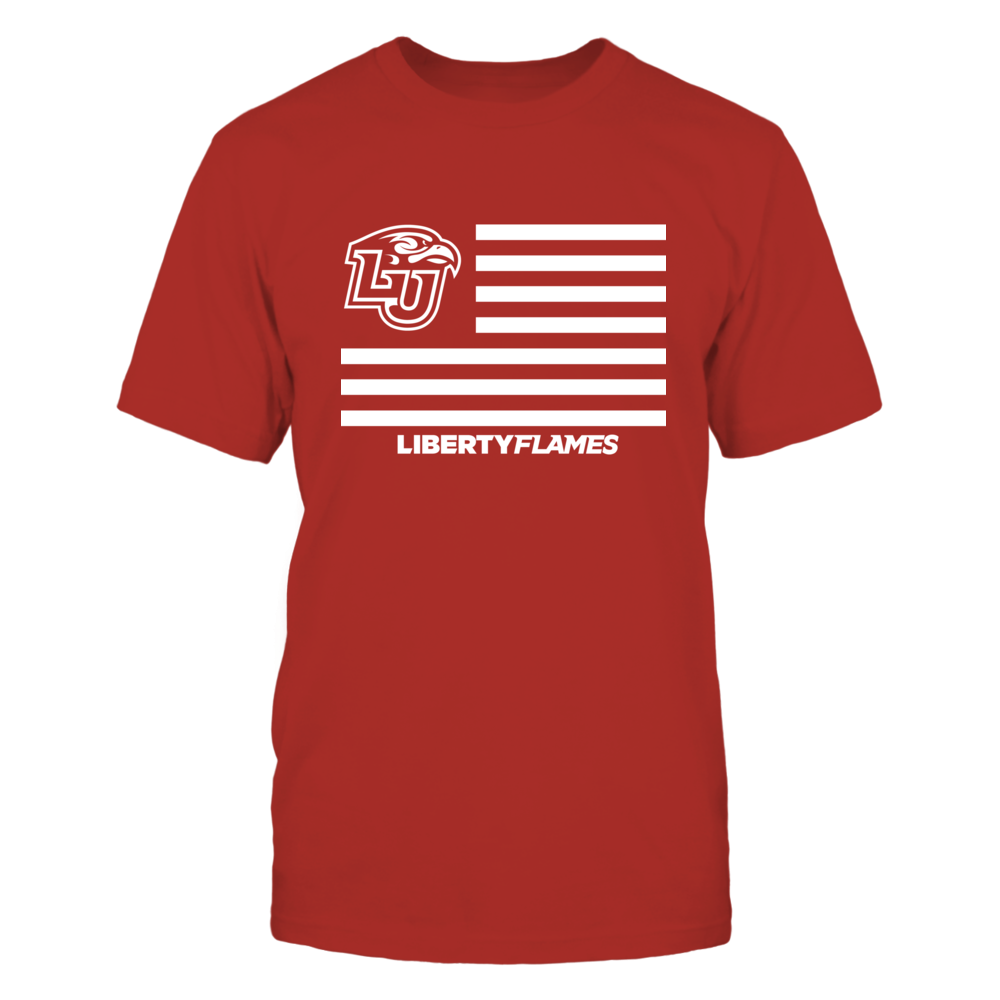 Liberty Flames - Flag Stripes Front picture