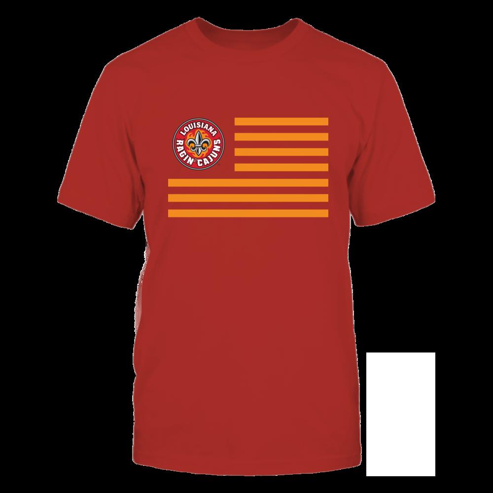 Louisiana-Lafayette Ragin' Cajuns - Flag Stripes Front picture