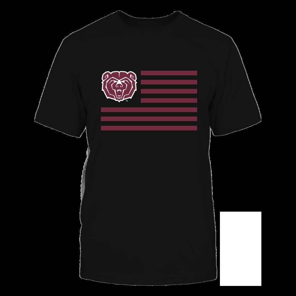 Missouri State Bears Missouri State Bears - Flag Stripes FanPrint