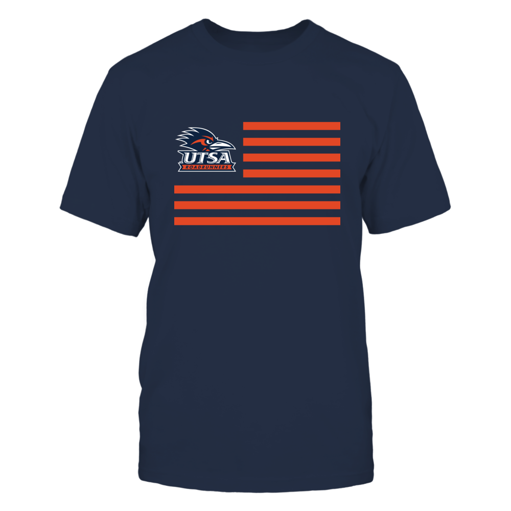 UTSA Road Runners - Flag Stripes Front picture