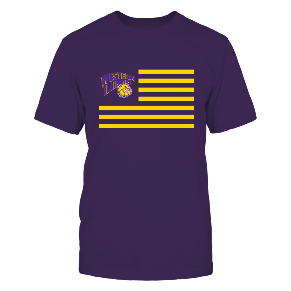 Western Illinois Leathernecks Western Illinois Leathernecks - Flag Stripes FanPrint