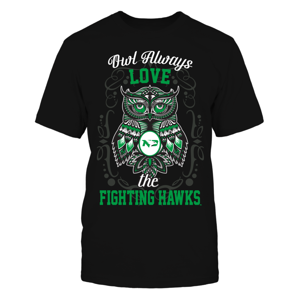Dakota Fighting Hawks - Owl always Front picture