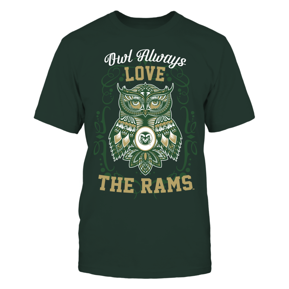 Colorado State Rams - Owl always Front picture