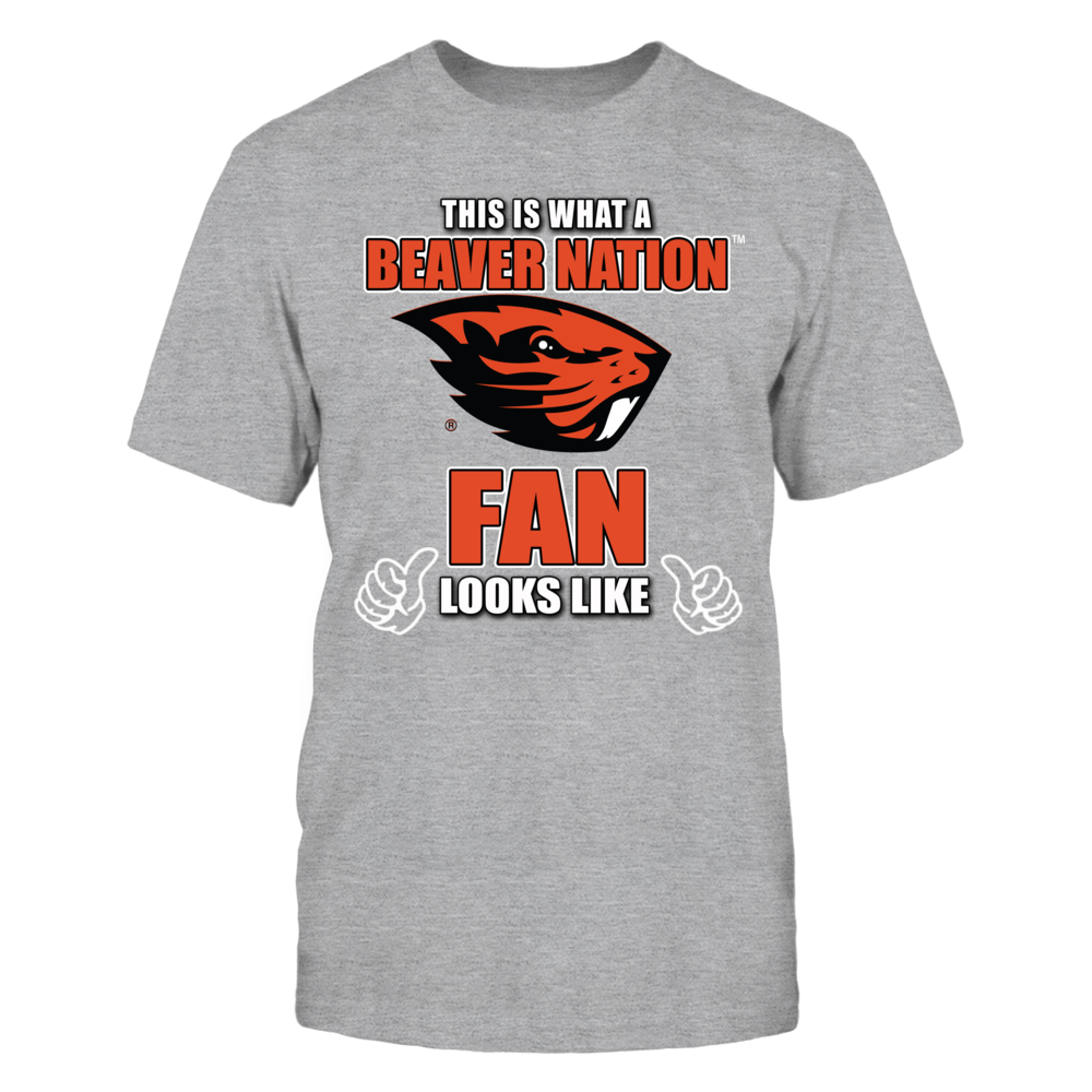 This is What an Oregon State Univ Beaver Nation Fan Looks Like Front picture
