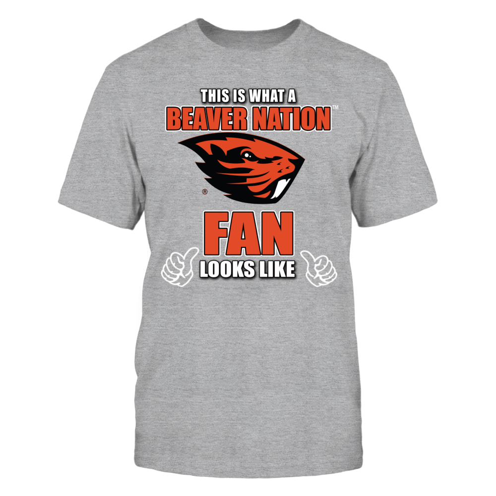 Oregon State Beavers This is What an Oregon State Univ Beaver Nation Fan Looks Like FanPrint