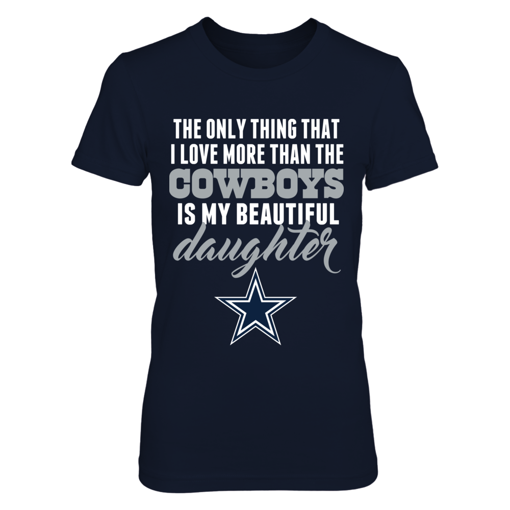 Dallas Cowboys Dad Loves Daughter Front picture