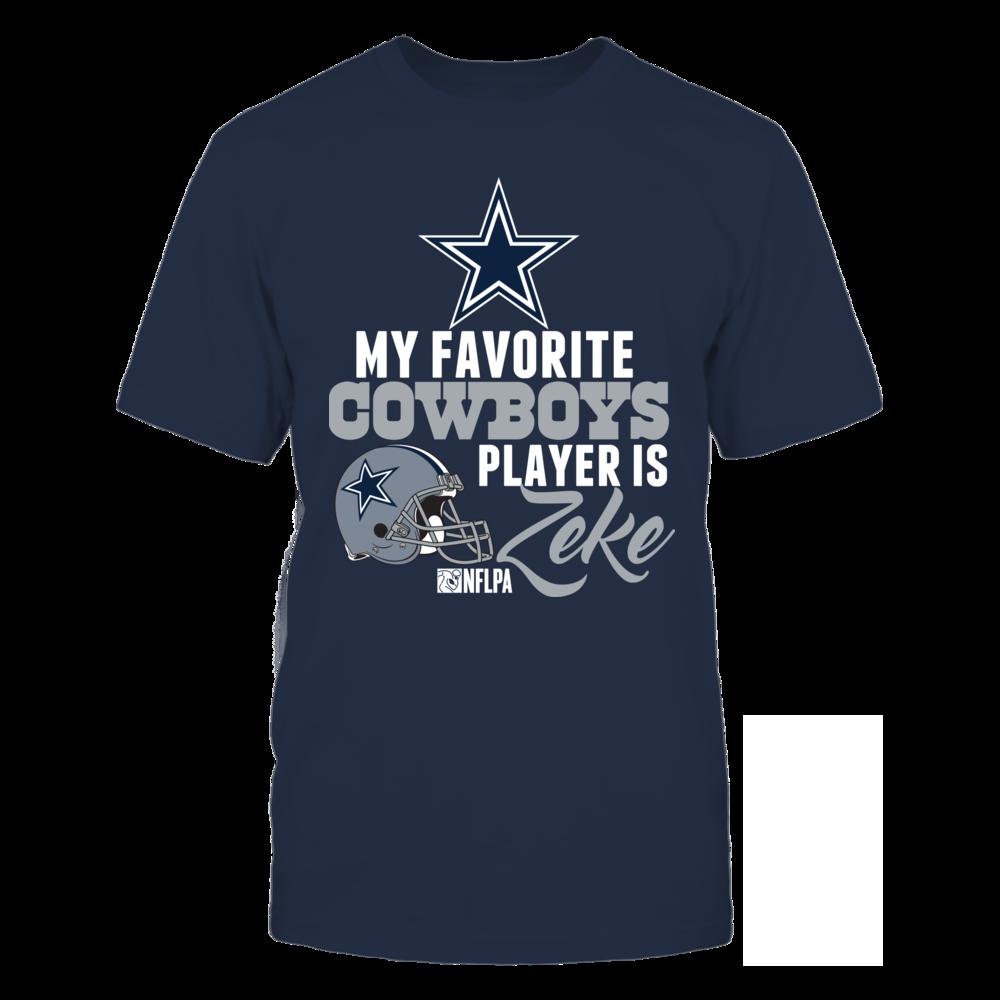 Dallas Cowboys Zeke Elliott Favorite Front picture