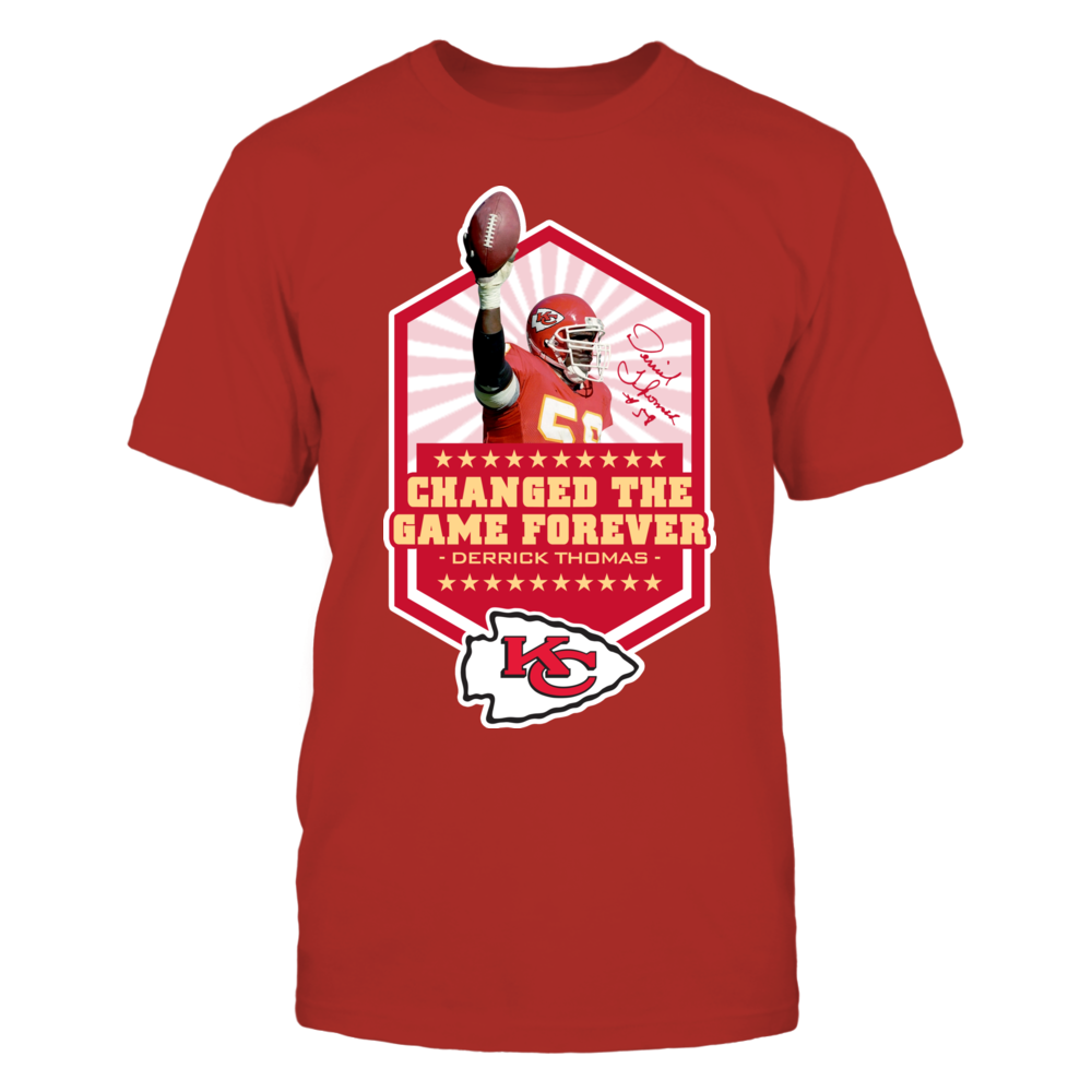 Changed the Game - Derrick Thomas Officially Licensed Shirts and More! Front picture