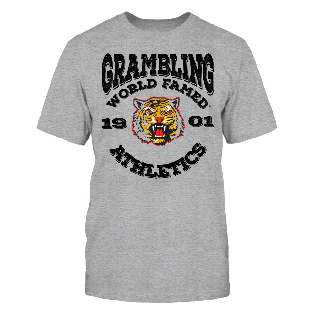 OFFICIAL GRAMBLING STATE UNIVERSITY - WORLD FAMED TIGERS SHIRTS AND MORE Front picture